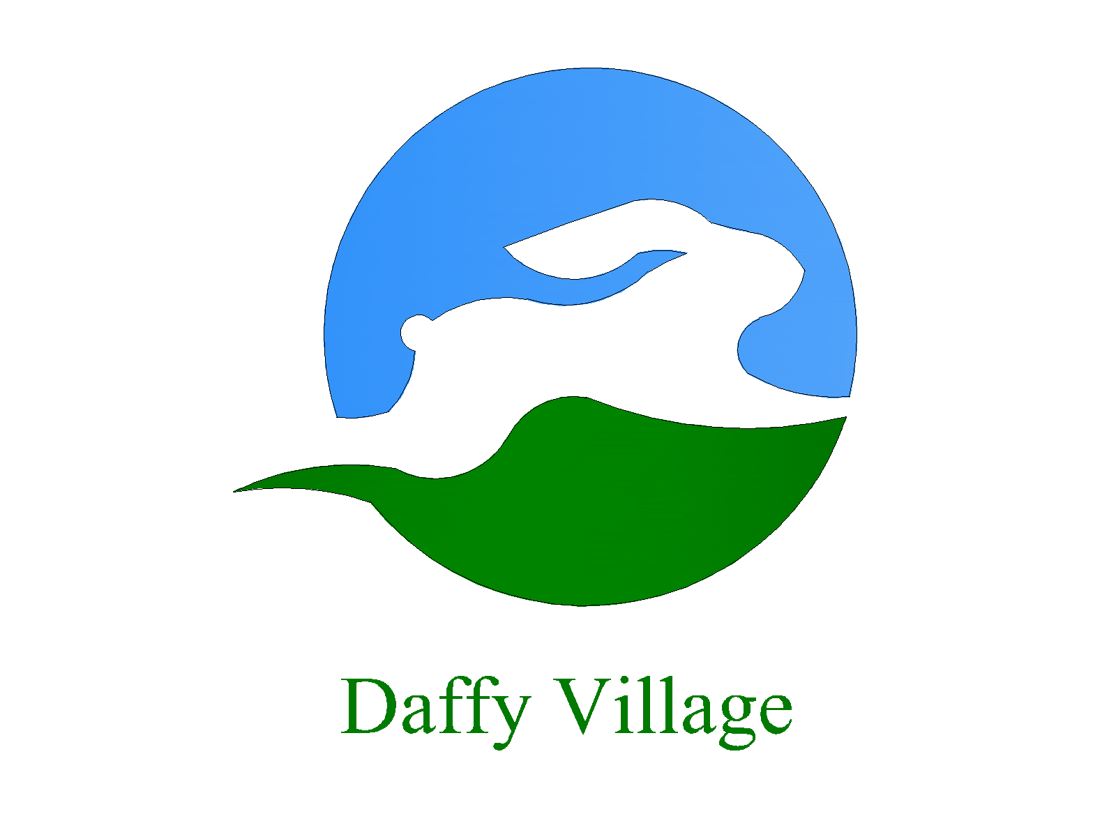 Daffy Village lgoo